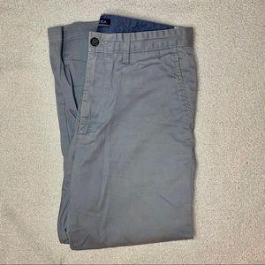 Nautica Grey Deck Pants 32Wx30L